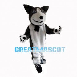 Frank Dog With Collar Mascot Costume