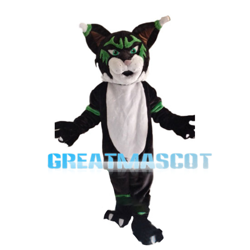 Freakish Tiger With Chicken Leg Shaped Ears Mascot Costume