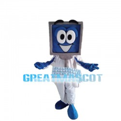Complete Set Of Desktop Computer Mascot Costume