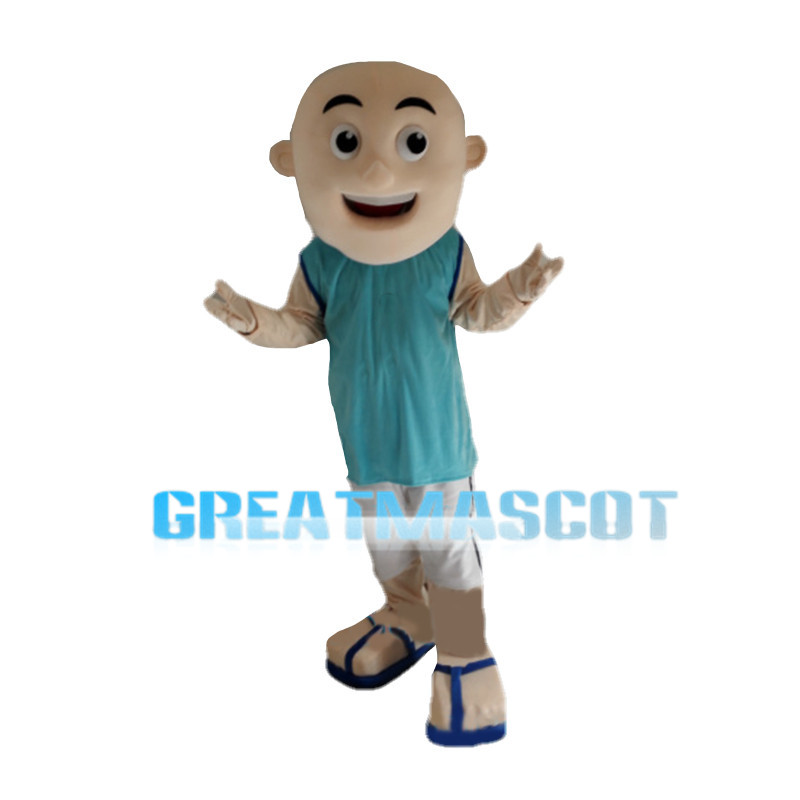Young Little Monk Mascot Costume
