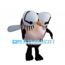 Large Mosquito With Protruding Eyes Mascot Costume