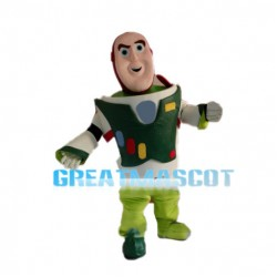 Green Buzz Lightyear Mascot Costume