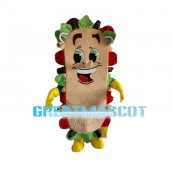 Bacon And Vegetable Sandwich Mascot Costume