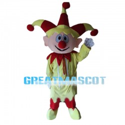 Fascinating Circus Clown Mascot Costume