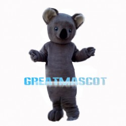Lovable Grey Koala Mascot Costume