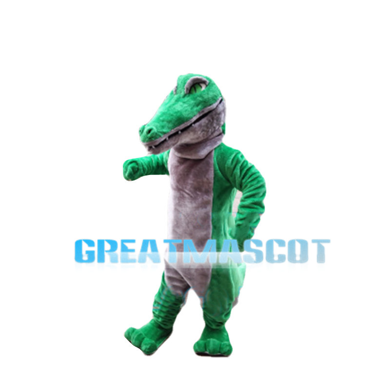 Green Eyes Crocodile Mascot Costume