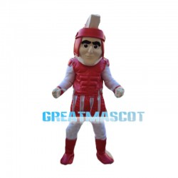 Honest Red Soilder Mascot Costume