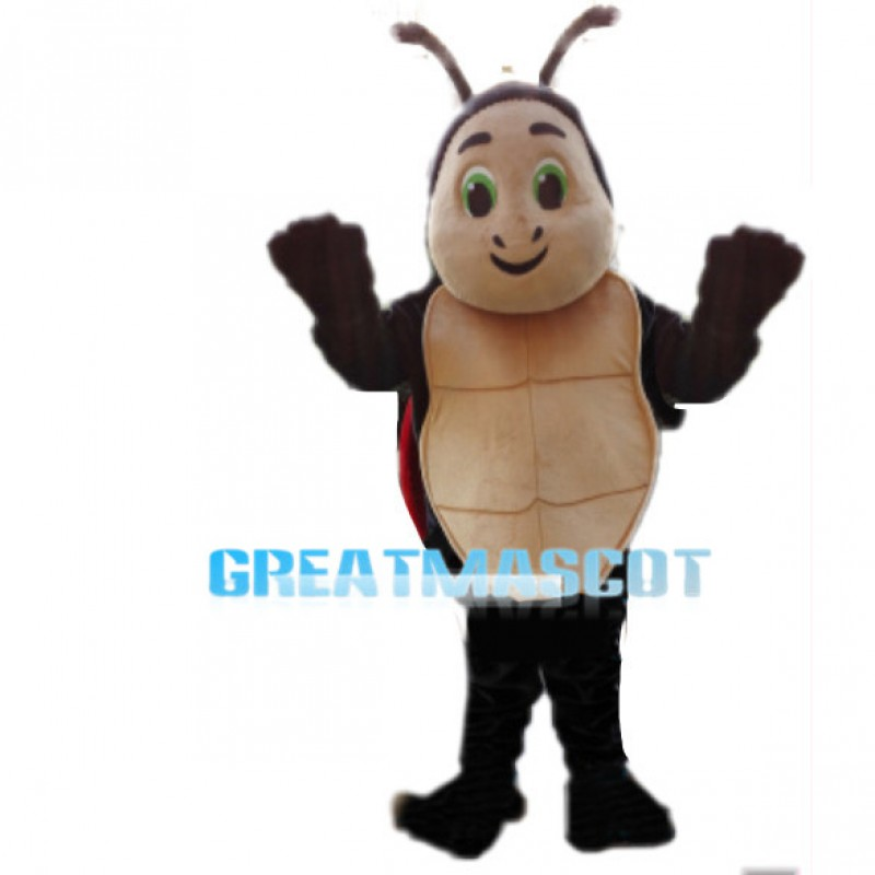 Slow Turtle With Green Eyes Mascot Costume