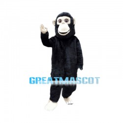 Resourceful Gorilla Mascot Costume