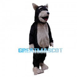 Honest Adorable Black Dog Mascot Costume