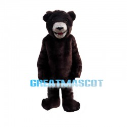Forceful Wild Bear Mascot Costume
