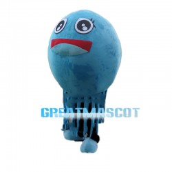 Sky Blue Lovely Jellyfish Mascot Costume