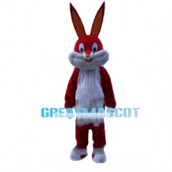 Colorful Bugs Bunny Mascot Costume