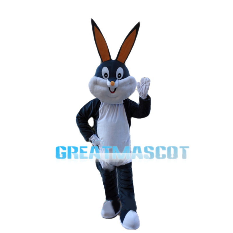 Thrilled Multiple Colour Rabbit Mascot Costume