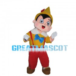 Long Nose Lying Pinocchio Mascot Costume