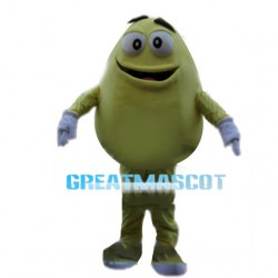 Colored Chocolate Beans Mascot Costume