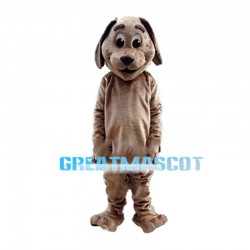 Honestly Brown Dog Mascot Costume
