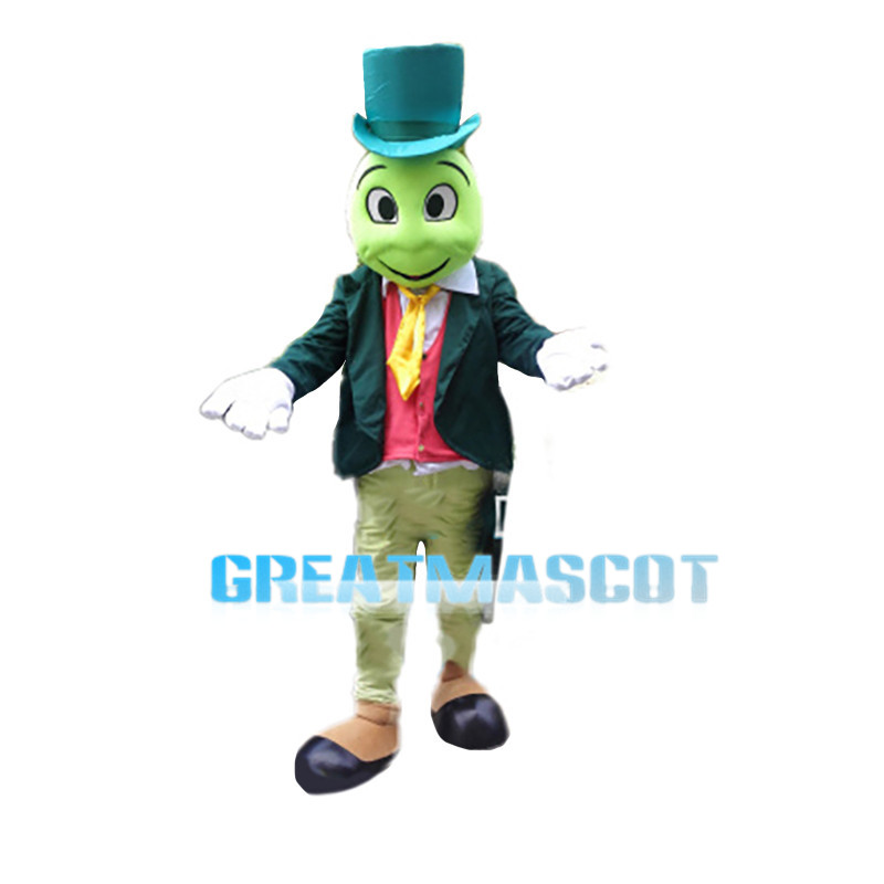 Gentleman Snake With Suit Mascot Costume