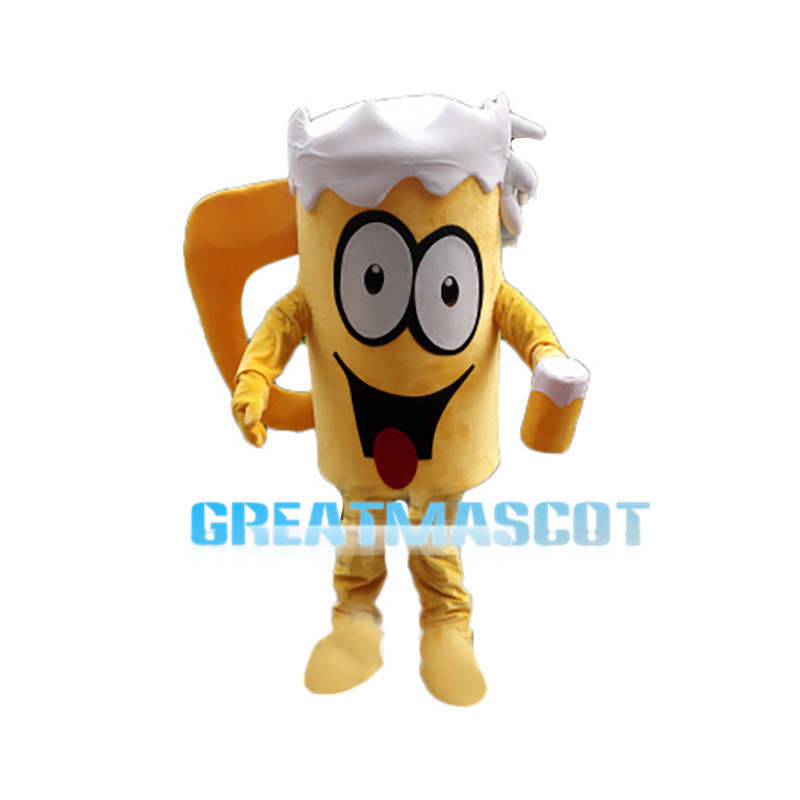 Overflowing Beer Glass Mascot Costume
