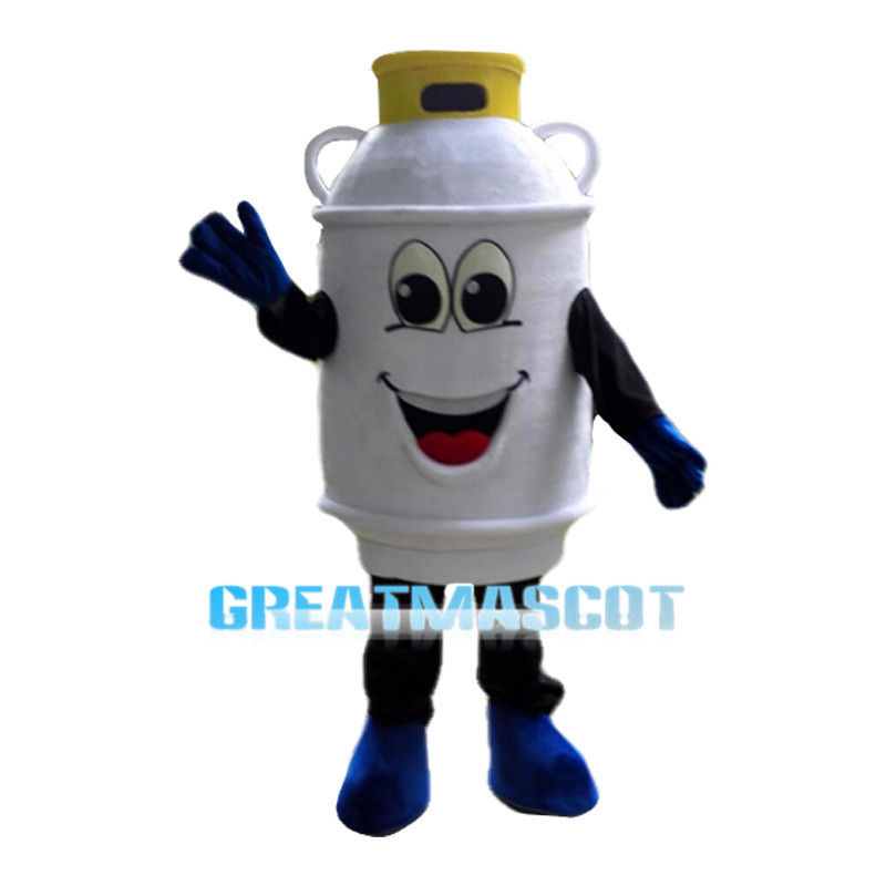 Cartoon Propane Tank Mascot Costume