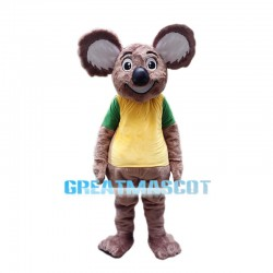 Happy Plush Brown Koala Mascot Costume