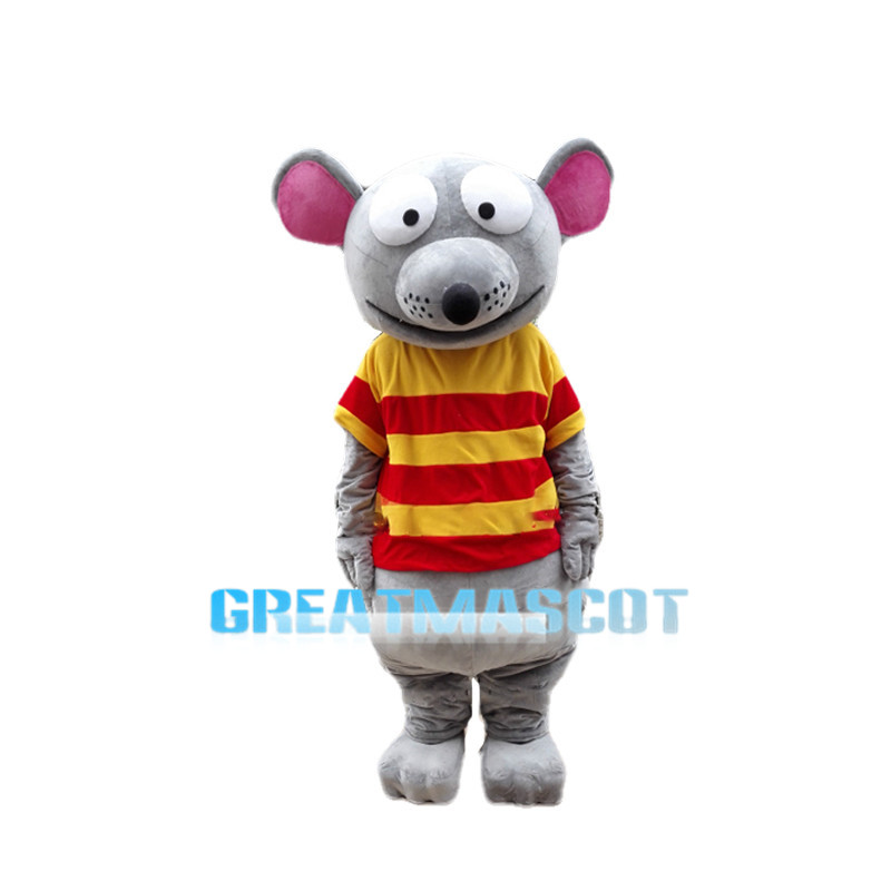 Cartoon Mouse Big Eyes Mascot Costume