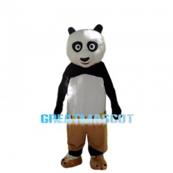 Adult Cartoon Kung Fu Panda Mascot Costume