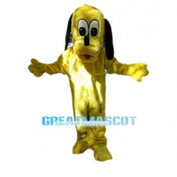 Cartoon Pluto The Yellow Dog Mascot Costume