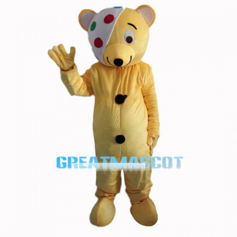 Children In Need Pudsey Bear Mascot Costume
