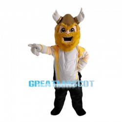 Happy Viking Warrior Mascot Costume
