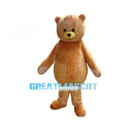 Gift Teddy Bear Mascot Costume Adult Size