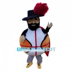 Funny Basketball Patriot Mascot Costume