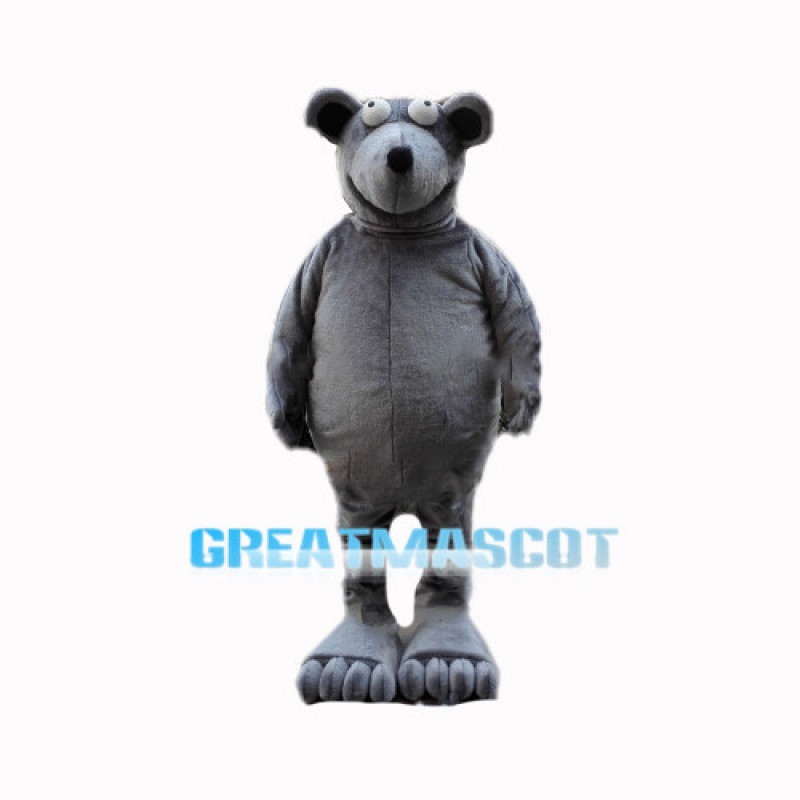 Funny Bigfoot Grizzly Bear Mascot Costume