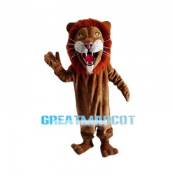 Howling African Lion Mascot Costume