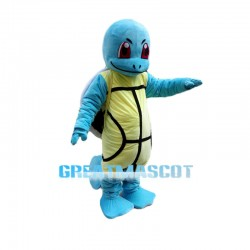 Pokemon Jenny Turtle Squirtle Cartoon Monster Mascot Costume