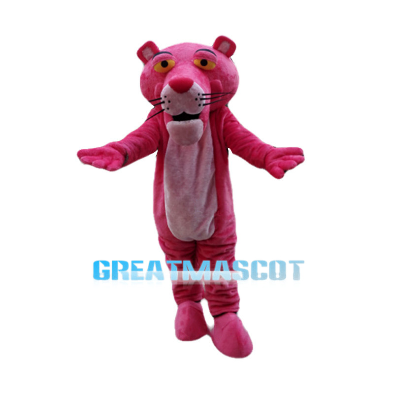 Classic Version Pink Panther Mascot Costume