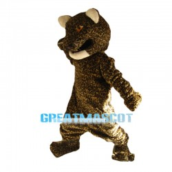 Fierce Jaguar Animal Mascot Costume