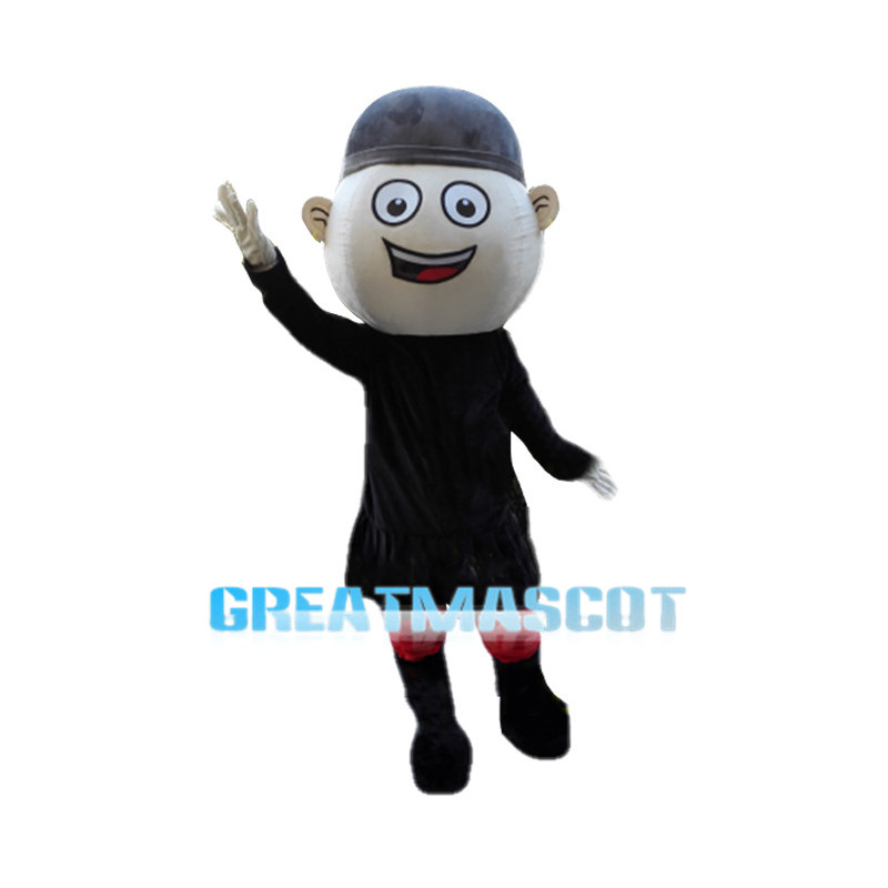 Cheery Islamic Boy Mascot Costume