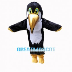 Plush Toucan Bird Mascot Costume