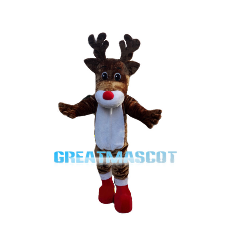 Adorable Christmas Elk Mascot Costume