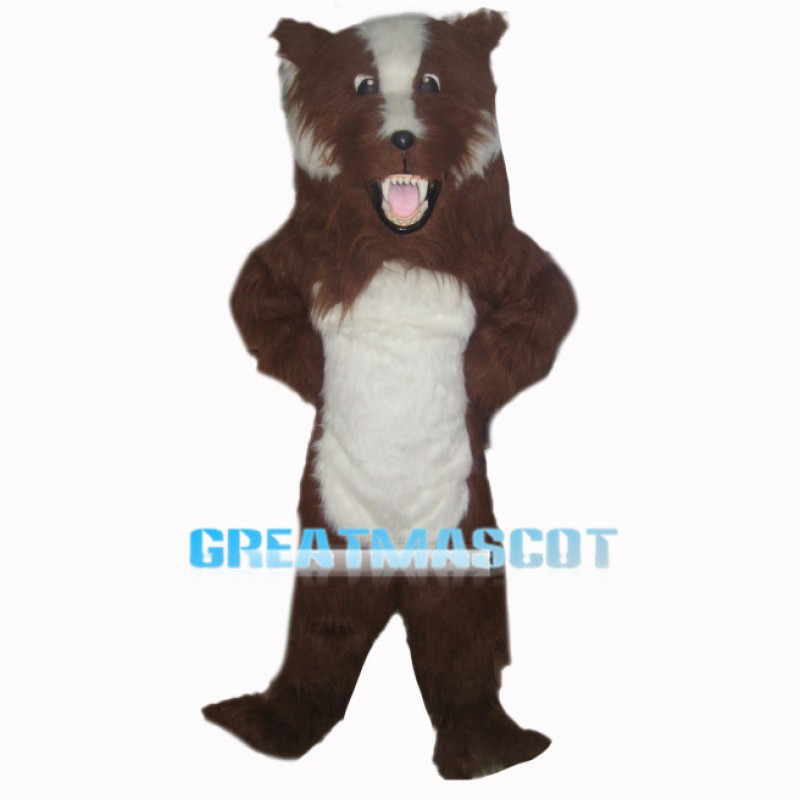 Fierce Dog Mascot Costume