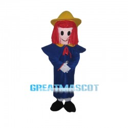 Optimistic Madeline Mascot Costume