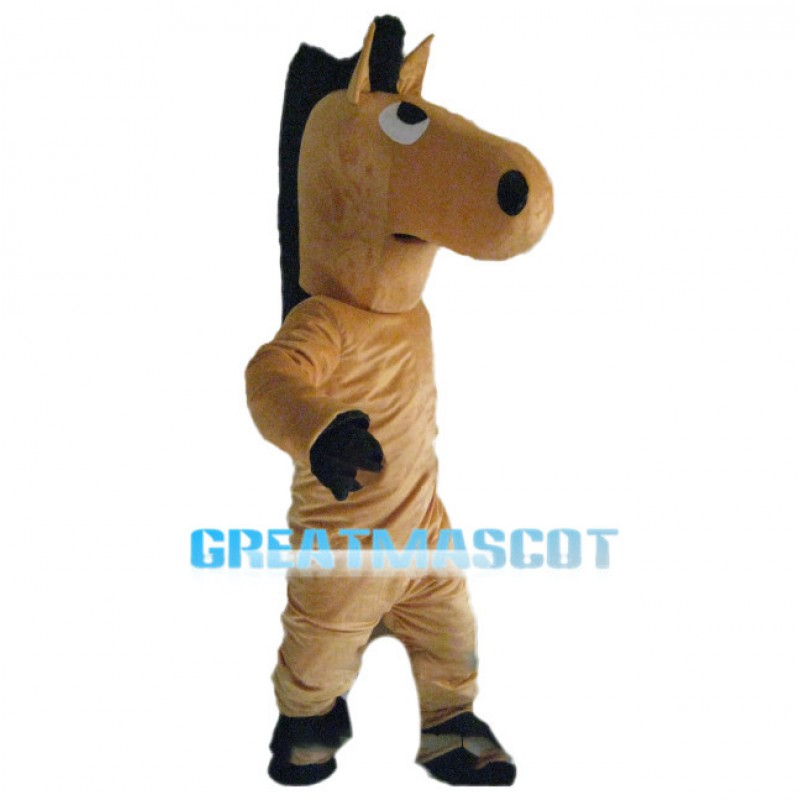 Simple Version Of Horse Mascot Costume