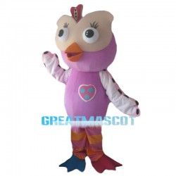 Hootabelle the Owl Mascot Costume