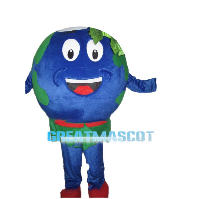 Deluxe Cartoon Earth Mascot Costume
