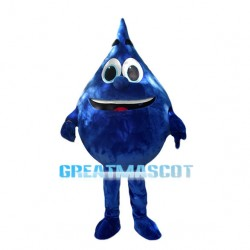Huge Cartoon Blue Water Drop Mascot Costume