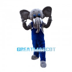 Big Ear Elephant Mascot Costume