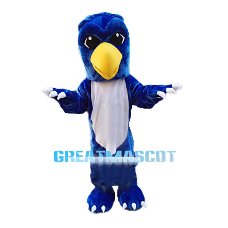 Blue Griffin Mascot Costume