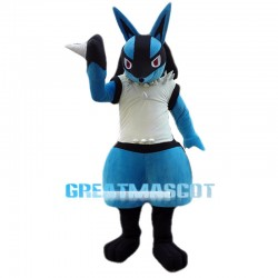 Pokemon Lucario Mascot Adult Costume