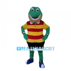 Adult Cartoon Froggy Mascot Costume